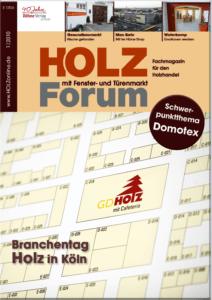 Holzforum Ausgabe 1/2010