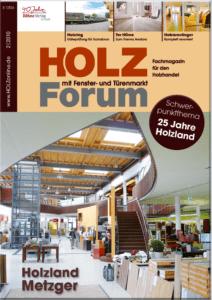 Holzforum Ausgabe 2/2010