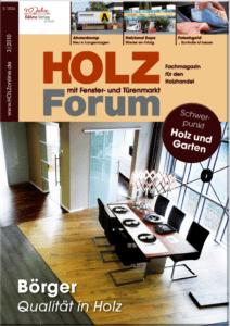 Holzforum Ausgabe 3/2010
