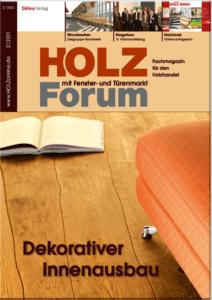 Holzforum Ausgabe 2/2011