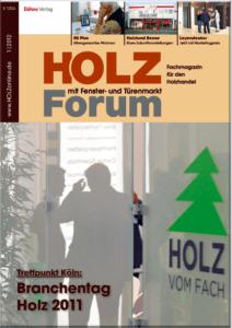 Holzforum Ausgabe 1/2012